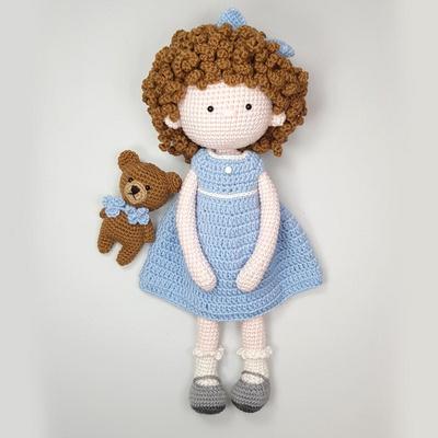 손뜨개 DIY-소피아랑 꼬마곰