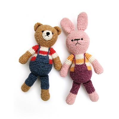 손뜨개 DIY-손뜨개인형-우리는친구-곰 토끼