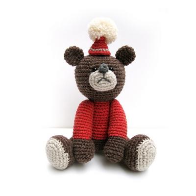 손뜨개 DIY-손뜨개인형-빨간모자아기곰