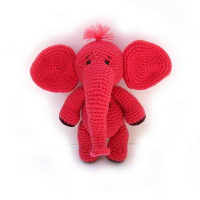 손뜨개 DIY-날아라코끼리