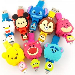디즈니 썸썸 Micro USB 케이블 [op-00132]