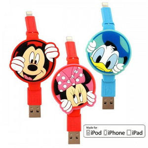 [op-00120]디즈니 애플 라이트닝 케이블