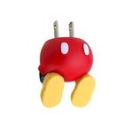 [276-824702] 디즈니 캐릭터 엉덩이 시리즈 AC 어댑터 충전기(미키)