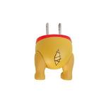 [276-824726] 디즈니 캐릭터 엉덩이 시리즈 AC 어댑터 충전기(푸우)