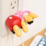 디즈니 엉덩이 2포트USB-AC/충전기 [op-00344]