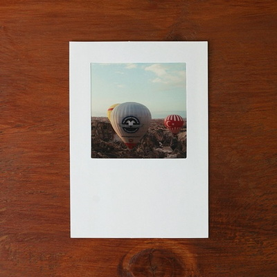 4x4 포토박스-리필 (화이트)