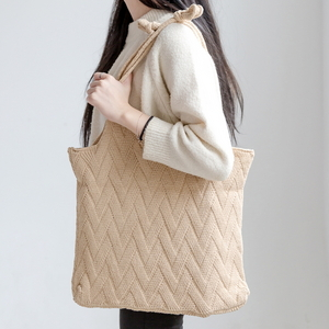 W07-니트백 - 여성가방 숄더백 데일리백