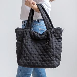 W14-모스키 패딩 숄더백 - 여성가방 숄더백 데일리백