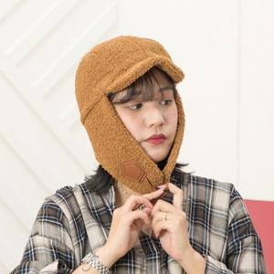 H-7 양털캡 귀달이 모자 - 방한모자 털모자 귀도리