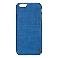 아이폰6s/6 우드케이스 - 미드나잇블루