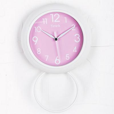 (kts053)저소음욕실시계 핑크