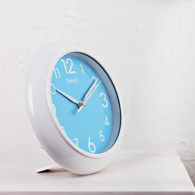 (kts054)저소음욕실시계 블루