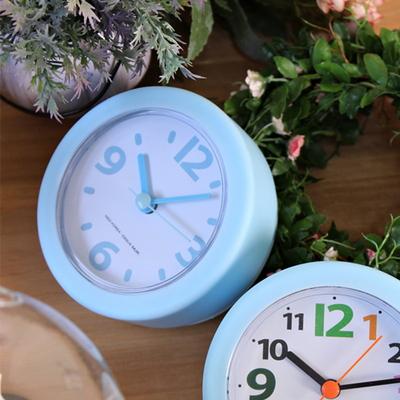 (kthx0482)밀크욕실시계 블루