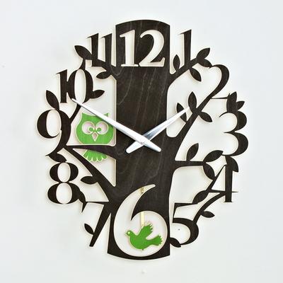 새와부엉이 시계 2종택1