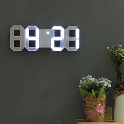 루미너스 3D LED 벽시계(탁상 겸용)