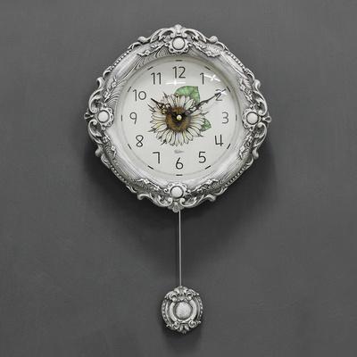 (kcp062)저소음 미에로 해바라기 추 시계
