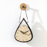 (ktk189)가죽끈 미니행거시계(저소음)