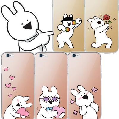오버액션 토끼 정품 미러 하이브리드 케이스 - LG G6