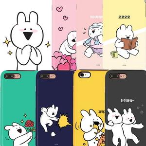 LG G6 오버액션 토끼 정품 더블가드 케이스
