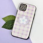 나인어클락 문양 체크 패턴 카드슬롯 케이스 - 아이폰7+ 8+