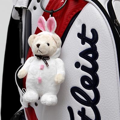테디베어 골프공 주머니 (토끼)