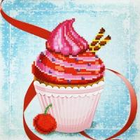 MCA 젬콕페인팅(보석십자수) 컵케이크(중급)