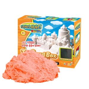 촉촉이모래 모래놀이 오렌지 단품 450g