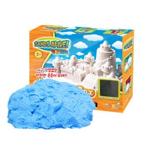 촉촉이모래 모래놀이 단품 450g 블루