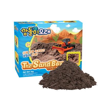 깜돌이모래 모래놀이 1kg 단품