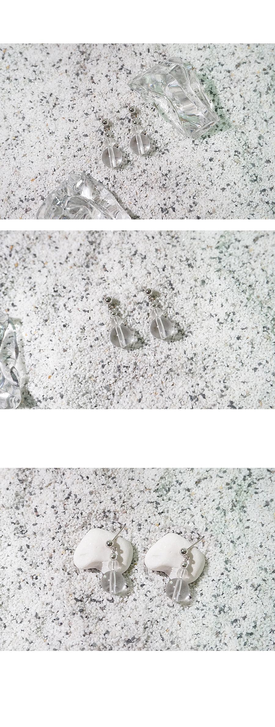 레이어드 듀 귀걸이 - 무디루틴, 10,000원, 실버, 드롭귀걸이