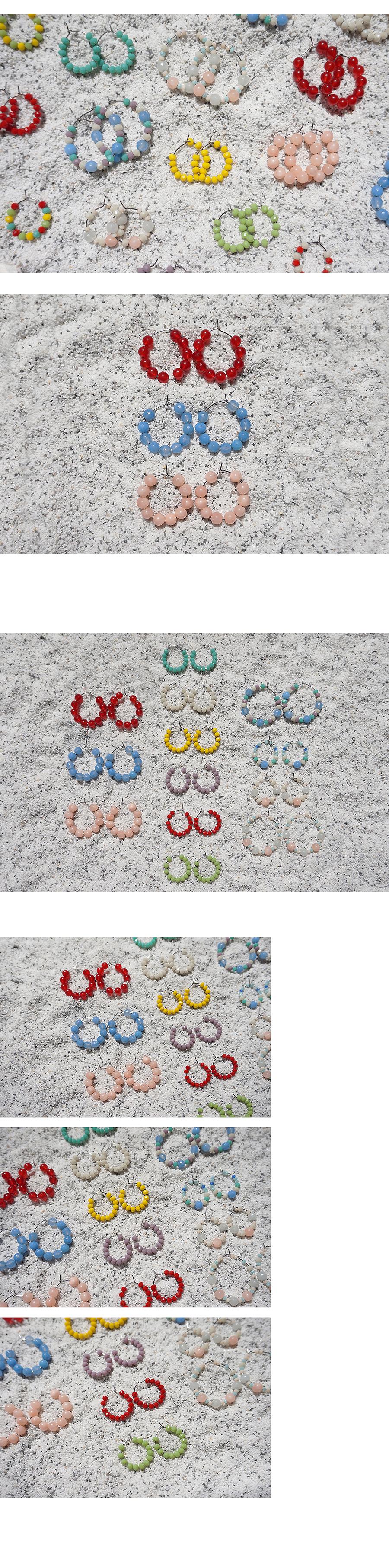 아게이트 버블 링귀걸이 (3colors) - 무디루틴, 16,000원, 진주/원석, 드롭귀걸이
