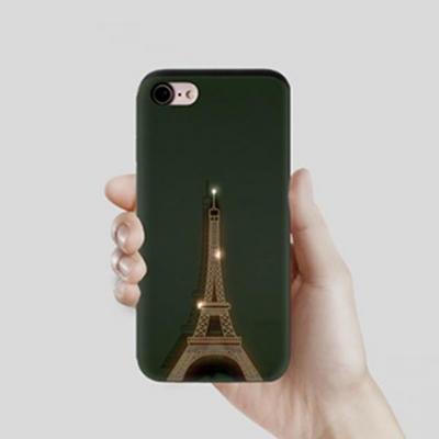 갤럭시노트9 (N960) 빛나는에펠탑 GPB-슬라이드 카드 범퍼 케이스