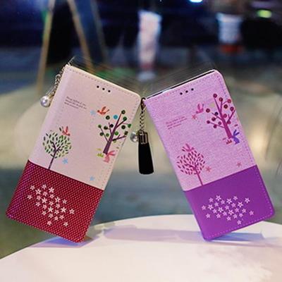 아이폰8플러스 Ventosa-Fortune-T 수제 지갑 다이어리 케이스