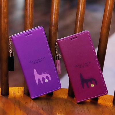 LG G8 (LG G820) Ventosa-Punto-T 플립 케이스