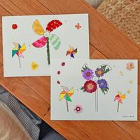 드로잉카드 diy 만들기세트(1인용) 인테리어 미술수업