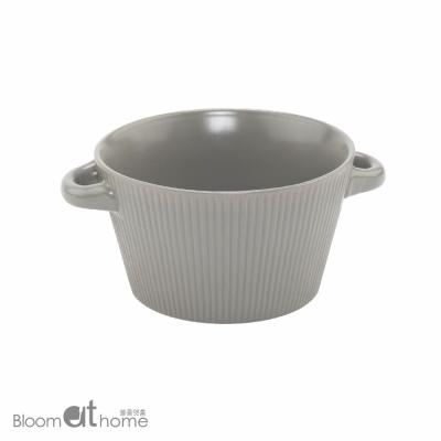 노르딕 라면그릇 (라이트그레이) 2P