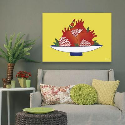 소과도 석류 - 민화 일러스트 포스터