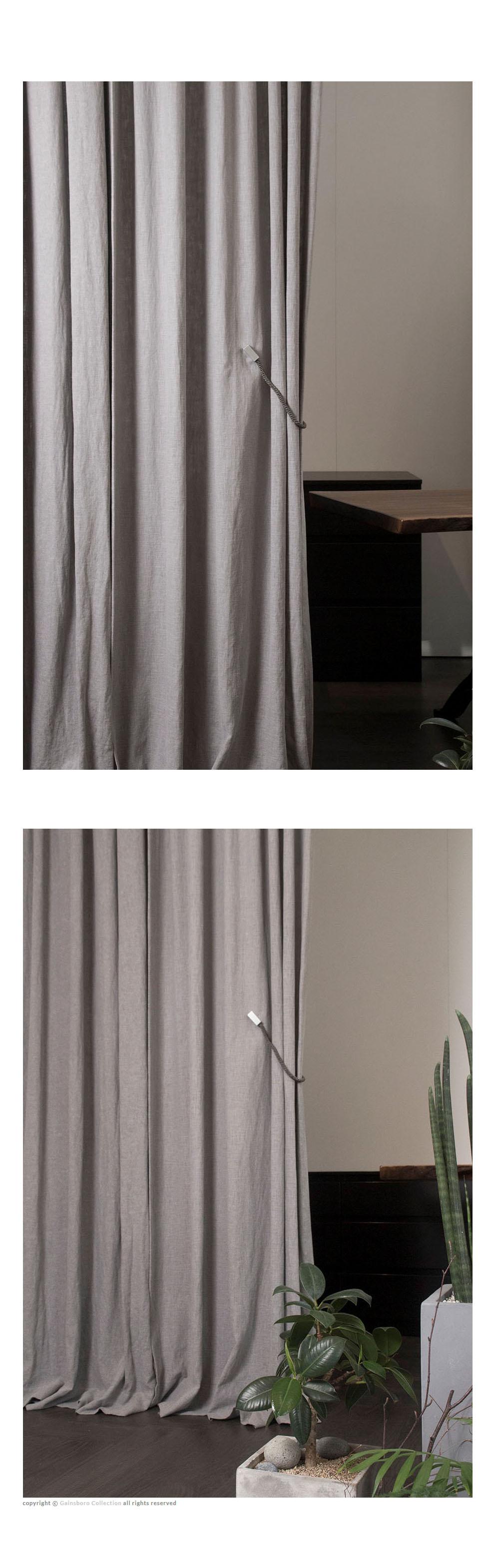 내추럴 베이직 린넨 커튼 - 게인스보로컬렉션, 115,000원, 일반커튼, 무지/솔리드