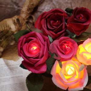 장미 LED 조명
