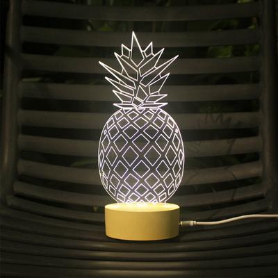 파인애플 LED 무드등