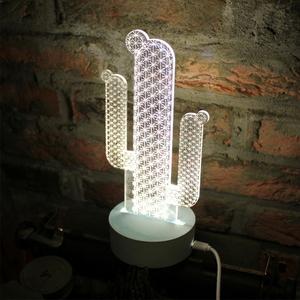 선인장 LED 무드등