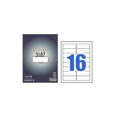 폼텍라벨지 3107 (16칸) 100매