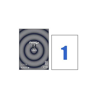 폼텍라벨지 3130 (1칸/전간) 100매