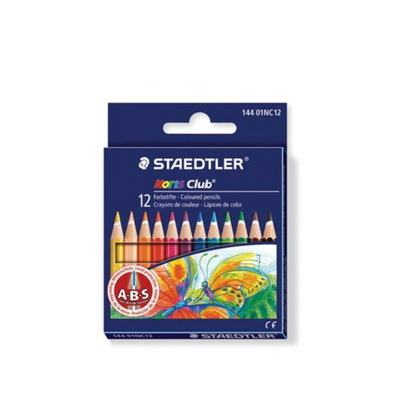 스테들러 노리스클럽144 01NC12 12색미니 색연필 세트