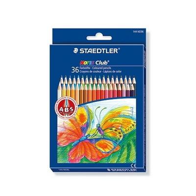 스테들러 노리스클럽 144 ND36 36색 색연필 세트