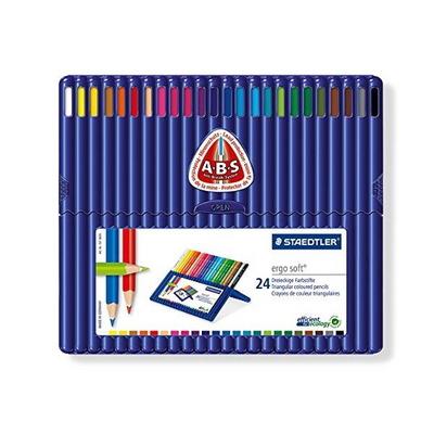 스테들러 에고소프트 157SB24 24칼라 색연필 세트