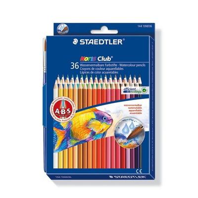 스테들러 노리스클럽 36색 수채 색연필 144 10ND36