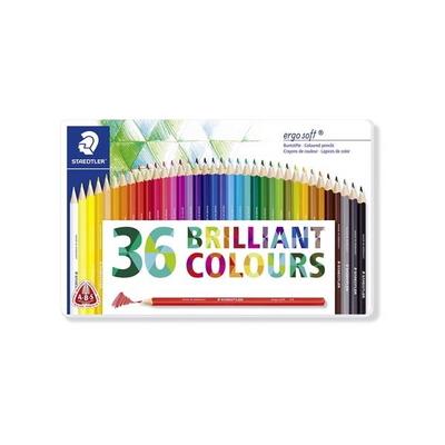 스테들러 에고소프트 색연필 36색세트 157
