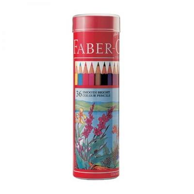 파버카스텔 일반 색연필 36색 원형케이스