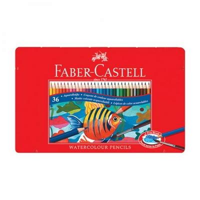파버카스텔 수채 색연필 36색 틴케이스